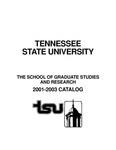 Graduate Catalogue 2001-2003