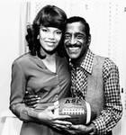 Miss TSU Queen Patsey Whitmon and Sammy Davis, Jr. by Tennessee State University