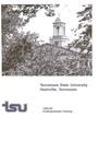 Undergraduate Catalogue 1983-1985