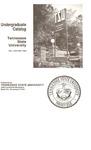 Undergraduate Catalogue 1981-1983