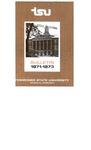 Undergraduate Catalogue 1971-1973
