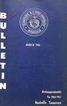 Undergraduate Catalogue 1966-1967
