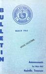 Undergraduate Catalogue 1964-1965