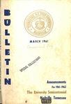 Undergraduate Catalogue 1961-1962