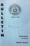 Undergraduate Catalogue 1960-1961