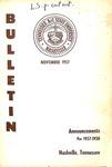 Undergraduate Catalogue 1957-1958