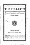 Undergraduate Catalogue 1940-1941