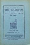 Undergraduate Catalogue 1939-1940