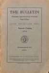 Undergraduate Catalogue 1937-1938