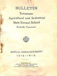 Undergraduate Catalogue 1912-1913
